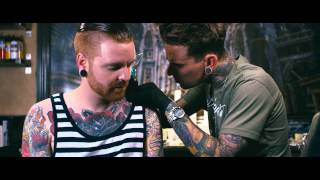 Video Backstage Ink | Matty Mullins of Memphis May Fire gets a Neck Tattoo by London Reese MP3, 3GP, MP4, WEBM, AVI, FLV September 2018