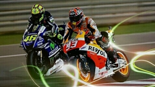 Video Rossi vs Marquez Best Battle - Highlight MotoGP MP3, 3GP, MP4, WEBM, AVI, FLV November 2017