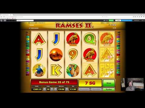 RAMSES II Slot Pays HUGE WIN During FREESPIN BONUS Game!!