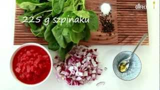 Zupa z czerwonej soczewicy ze szpinakiem - przepis