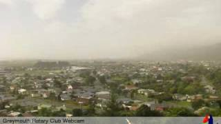 Greymouth Webcam Wednesday 14th October 2009