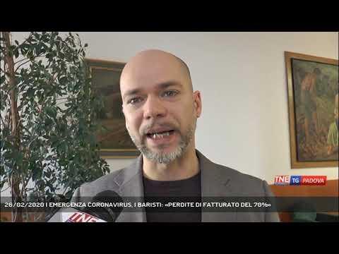 26/02/2020 | EMERGENZA CORONAVIRUS, I BARISTI: «PERDITE DI FATTURATO DEL 70%»
