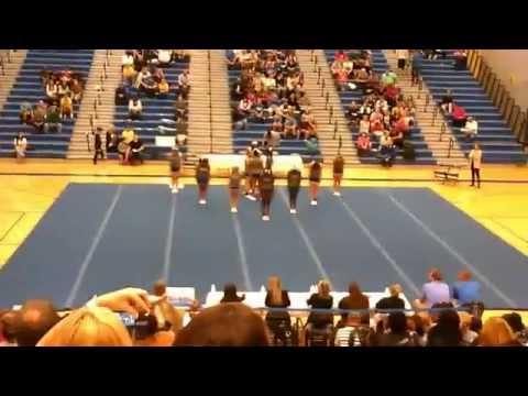 Stafford High School JV  at The Den Cheer Invitational 2015