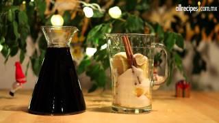 Ponche de vino con fruta