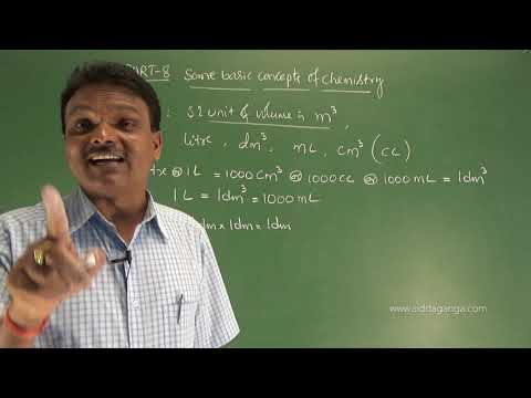 1 PUC - CHEMISTRY - SOME BASIC CONCEPTS OF CHEMISTRY - PART 8