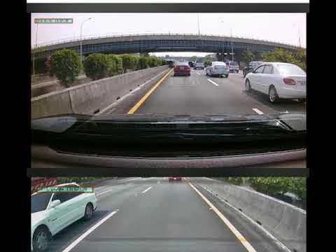 國道1號 道路救援車追撞