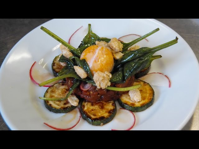 Rind Koreanisch | Ei |Sesam | Erdnüsse