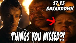 In this BREAKDOWN video of Game Of Thrones Season 7 Episode 2, I discuss my favorite moments of the episode as well as...