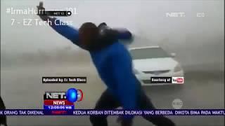 Video Nekat Selfie Saat Badai Irma Menerjang - NET12 MP3, 3GP, MP4, WEBM, AVI, FLV Desember 2018