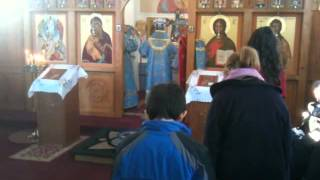 Pearl River (NY) United States  city photos : Hierarchical Divine Liturgy- Iveron Icon; Holy Transfiguration Church, Pearl River NY