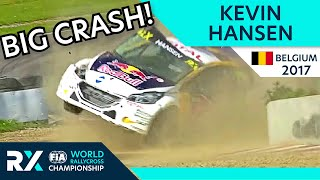 Kevin Hansen Huge Accident at Mettet RX