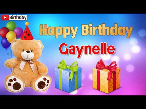 Happy birthday messages - Happy birthday Gaynelle