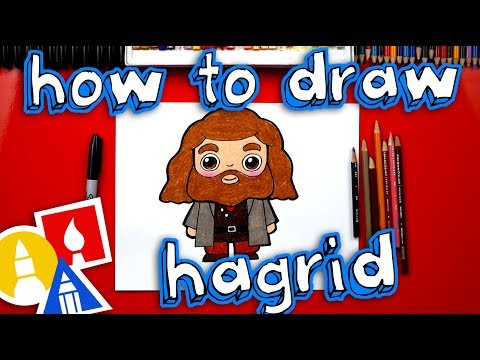 How To Draw Hagrid From Harry Potter