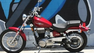 8. 2008 Suzuki Boulevard S40 LS650 Motorcycle For Sale