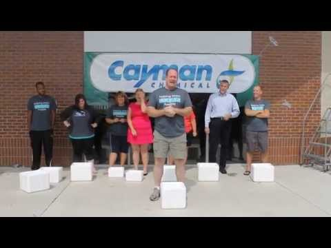 Cayman Chemical's ALS Ice Bucket Challenge