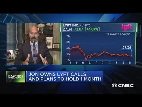 Options traders see upside ahead in Lyft