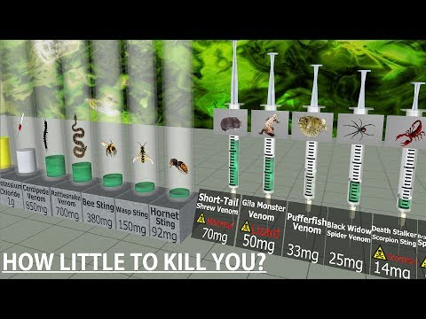 Toxicity Comparison (This little will KILL you)