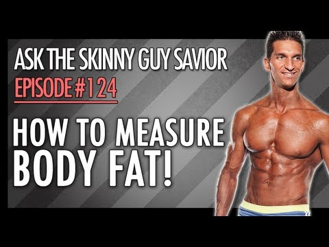 how to check body fat