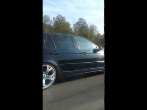 X5 wheels on BMW e46 R19/225/35