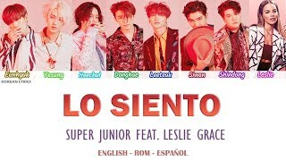 Video SUPER JUNIOR - LO SIENTO (Feat. Leslie Grace) Lyrics: Español - Rom- English MP3, 3GP, MP4, WEBM, AVI, FLV April 2018