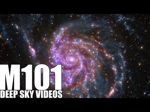 Supernova und Pinwheel Galaxie (M101) - Deep Sky Videos