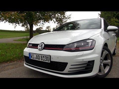 2014 VW Golf 7 GTI (220 HP) Full Test Drive