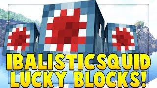 IBALLISTICSQUID YOUTUBER BLOCK MOD CHALLENGE (Minecrafter Mod) | Minecraft - YouTuber Block Mod