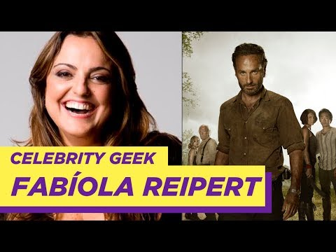 Celebrity Geek com Fabiola Reipert