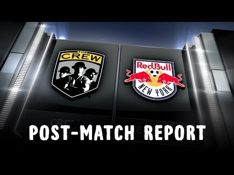 Video: Post-Match Report: Columbus at New York
