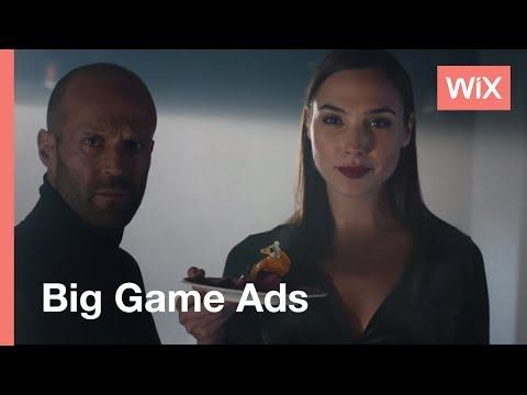Gal Gadot & Jason Statham American Superbowl Commercial - makeup for Gal Gadot