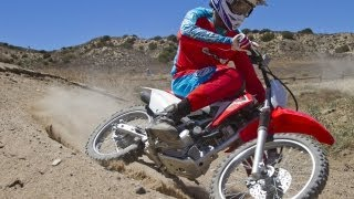 1. 2014 Honda CRF125F First Ride - MotoUSA