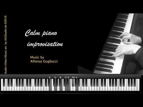 Calm jazz piano - improvisation