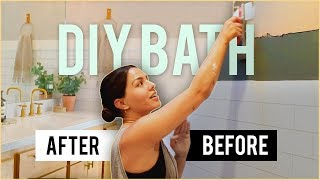 DIY Luxury Bathroom | MeganBatoon