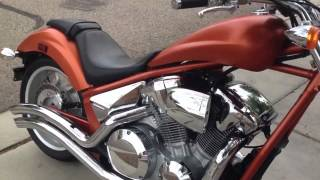 2011 Honda Fury Burnt Orange