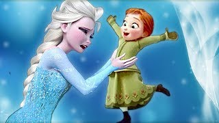 Jogos de meninas - Frozen Princesa Elsa y Bebe Anna Juegos Infantiles