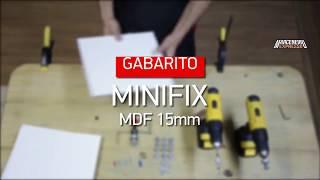 Realizando Furações de Minifix com os Gabaritos Zinni