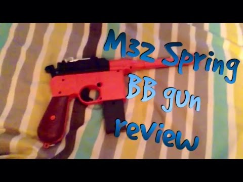 M32 Spring BB gun unboxing and review
