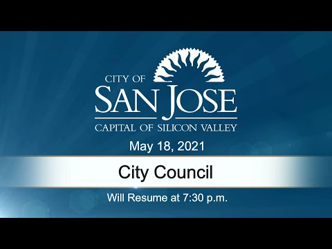 May 18, 2021 | City Council Evening Session