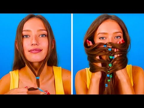 21 SIMPLE LIFE HACKS TO LOOK STUNNING EVERY DAY (видео)