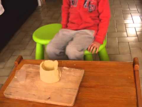 comment construire un volcan avec du platre