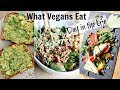 WHAT VEGANS EAT IN A DAY (Easy Summer Recipes // 10 MINUTE MEALS!)