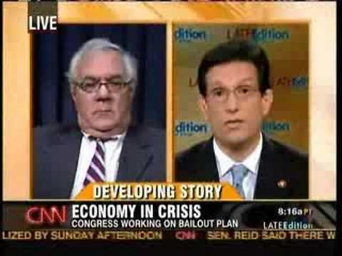 Cantor Tries To Blame Housing Crisis on Carter