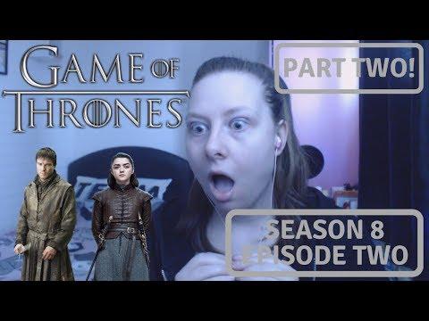 Game of Thrones Season 8 Episode 2   A Knight of Seven Kingdoms   Reaction Part 2
