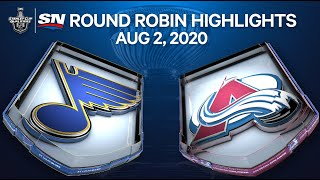 NHL Highlights | Blues vs. Avalanche – Aug. 02, 2020 by Sportsnet Canada