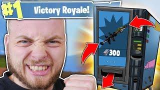 VENDING MACHINE DOUBLE WIN!! - FORTNITE BATTLE ROYALE!!