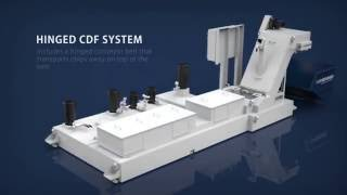 Conveyors & Filtration: Hinge Belt CDF (Chip Disc Filtration)