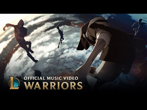 Imagine Dragons: Warriors | Worlds 2014 - League of Legends (видео)