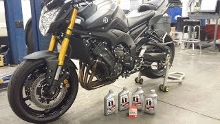 1. How to change oil on a 2010-2015 Yamaha FZ8