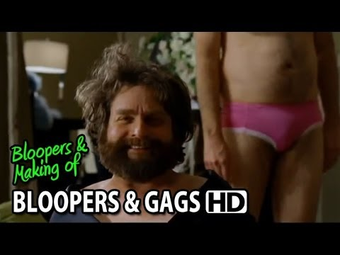 The Hangover Part III (2013) Bloopers Outtakes Gag Reel