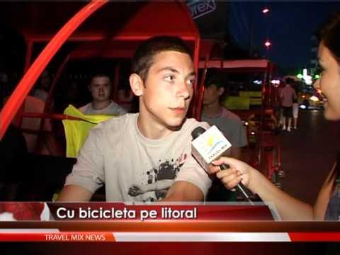 Descoperă litoralul românesc pe bicicletă! – VIDEO